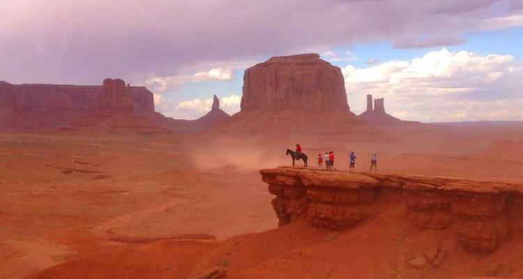 ナバホ族の聖地