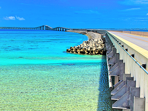 Tours and activites from Miyako Island, Okinawa.