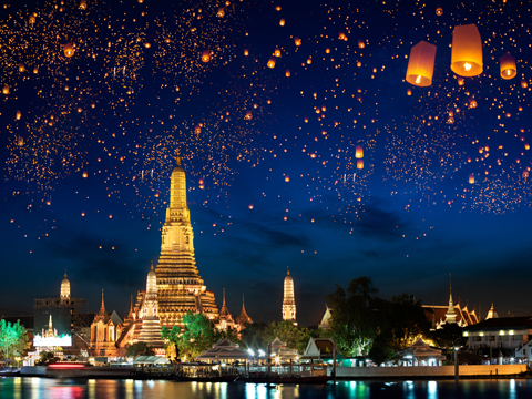 Tours and activites from Thailand, Asia.