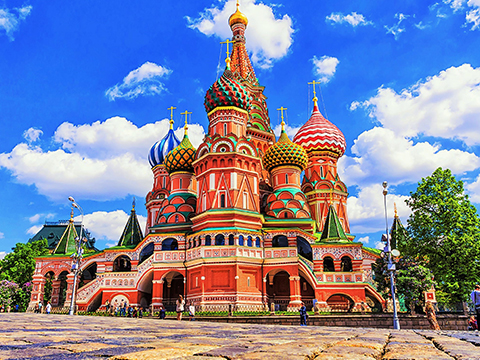 Check out tours and activites from Russia, Europe.