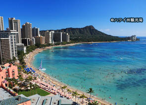 瓦胡岛夏威夷的旅游活动。