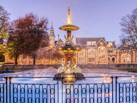 Check out tours and activites from Christchurch, New Zealand.