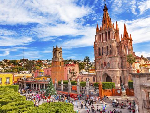 メキシコ メキシコその他の都市 出発の観光・オプショナルツアーはこちらから。